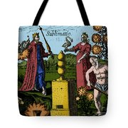 Alchemy Illustration Tote Bag
