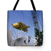 Alcoa Ship Destines For South America Tote Bag