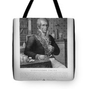 Alessandro Volta, Italian Physicist Tote Bag by Omikron