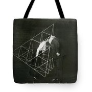 Alexander Graham Bell And Mabel Kissing Tote Bag