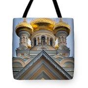 Alexander Nevski Church Tote Bag