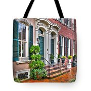 Alexandria Row Houses Tote Bag