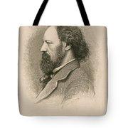 Alfred, Lord Tennyson, English Poet Tote Bag