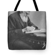 Alfred Russel Wallace Tote Bag by Science Source