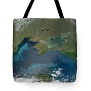 Algal Blooms In The Black Sea Tote Bag