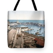 Algiers - Algeria - Harbor And Admiralty Tote Bag