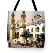 Algiers Cathedral C1899 Tote Bag