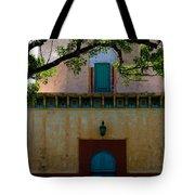 Alhambra Water Tower Doors Tote Bag
