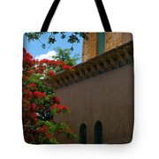 Alhambra Water Tower Windows And Door Tote Bag