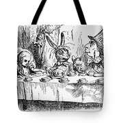Alice In Wonderland Tote Bag by Photo Researchers, Inc.