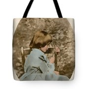 Alice Liddell, Alices Adventures Tote Bag by Science Source