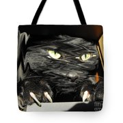 Alice's Cat Tote Bag by Rebecca Margraf