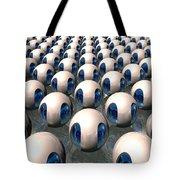 Alien Army Tote Bag