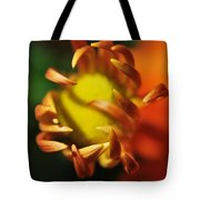Alien Flower Tote Bag