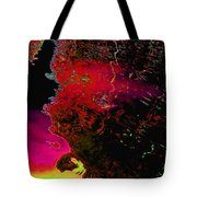 Alien In Thought Tote Bag