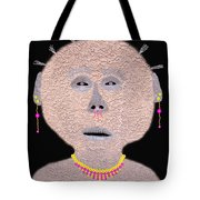 Alien  Lifeform From  Stucco  World  -  One Tote Bag