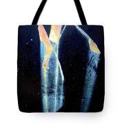 Alien-looking Rust Tote Bag