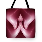 Alien Seed Abstract Tote Bag