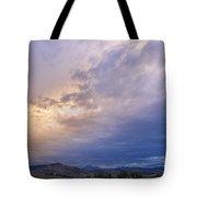 Alien Sky Tote Bag