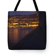 Alien Spacecraft Over Villefranche Tote Bag