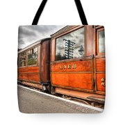 All Aboard Tote Bag by Adrian Evans