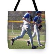 All Air Baseball Players Running Tote Bag