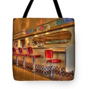 All American Diner 2 Tote Bag