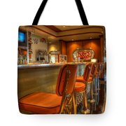 All American Diner 3 Tote Bag by Bob Christopher