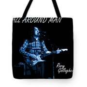 All Around Man Blues Square Tote Bag