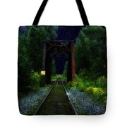 All Down The Line Tote Bag