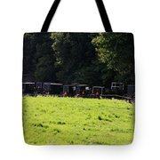 All The Amish Buggies Tote Bag