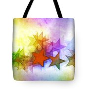All The Stars Of The Rainbow Tote Bag