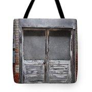 Alley Doors Tote Bag