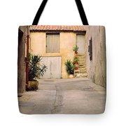 Alley In Arles France Tote Bag