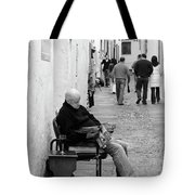 Alley Stop Tote Bag