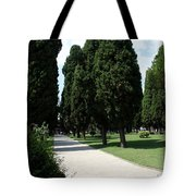 Alley Topkapi Palace Courtyard - Istanbul Tote Bag