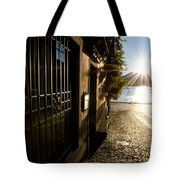 Alley With Sunshine Tote Bag