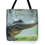 Alligator Cameron Prairie Nwr La Tote Bag