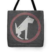 Allowed In Designated Area Tote Bag