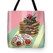 Almond Cake Tote Bag