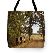 Almost A Pile Of Wood Barn Vertical Tote Bag