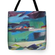 Almost Abstract Painting Tote Bag