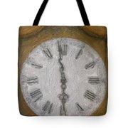 Almost Six O'clock Tote Bag