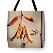 Aloe Flower And Stem Tote Bag