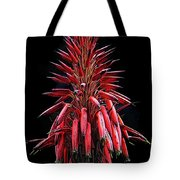 Aloe Flowers Tote Bag