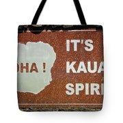 Aloha Kauai's Spirit Tote Bag