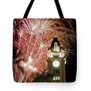 Aloha Tower Fireworks Tote Bag