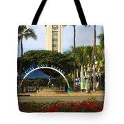 Aloha Tower Tote Bag