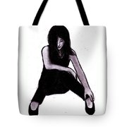 Alone And Alright Tote Bag