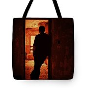 Alone In The Endzone Tote Bag